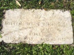 Milton Dale Dale Boone, Sr