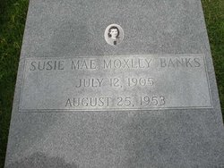 Susie Mae <i>Moxley</i> Banks