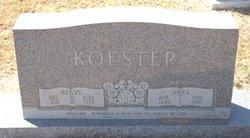Anna <i>Hausler</i> Koester
