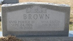 Nina <i>Leech</i> Brown