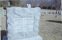 Susan J <i>Horton</i> Brown