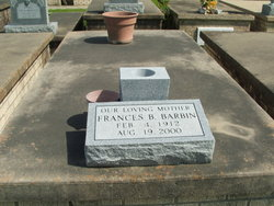Frances <i>Bordelon</i> Barbin
