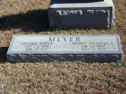 Hassie <i>Parks</i> Meyer