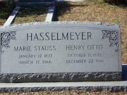 Marie <i>Stauss</i> Hasselmeyer