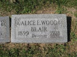 Alice Elizabeth <i>Wood</i> Blair