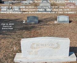 Willie Burleson
