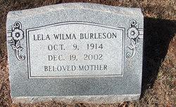 Lela Wilma <i>Wolf</i> Burleson
