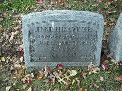Jennie Eliza Wilder