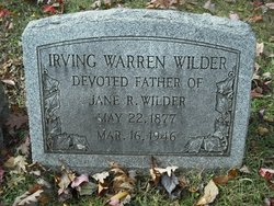 Irving Warren Wilder