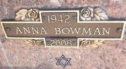 Anna Bowman