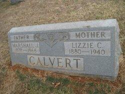 Lizzie Catherine <i>Deatley</i> Calvert