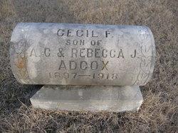 Cecil F. Adcox