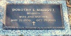 Dorothy <i>Landwehr</i> Mallott
