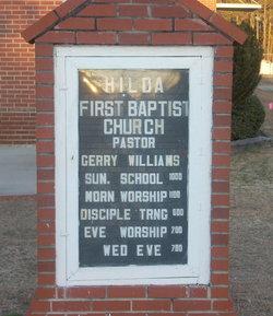 Hilda First Baptist Church Cemetery