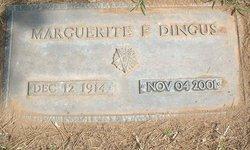 Marguerite Florine <i>Thatcher</i> Dingus