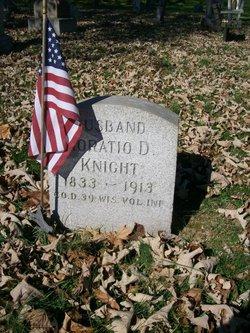 Pvt Horatio D. Knight