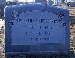 Willie Esther <i>Hager</i> Arteberry
