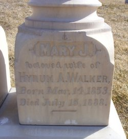 Mary Jerusha <i>Wood</i> Walker