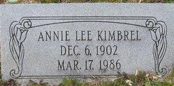 Annie Lee Kimbrel