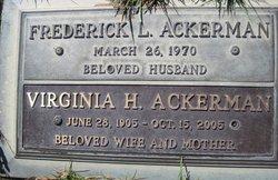 Virginia H Ackerman