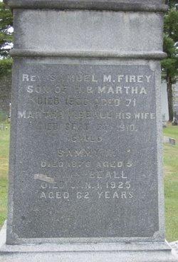 Rev Samuel M. Firey