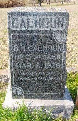 Benjamin Harvey Calhoun