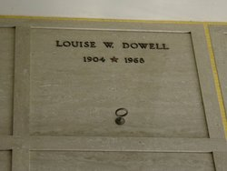 Louise Augusta Magdalena <i>Wehling</i> Dowell