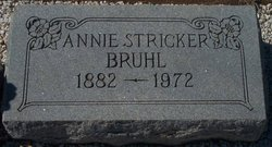 Annie <i>Stricker</i> Bruhl