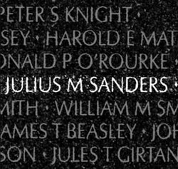 PFC Julius Mitchell Sanders