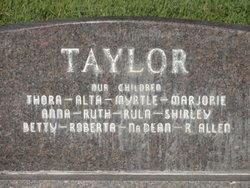 Robert Allen Taylor