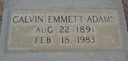 Calvin Emmett Adams