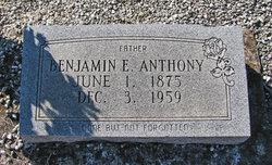 Benjamin E Anthony
