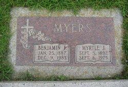 Myrtle Judson <i>Kimsey</i> Myers