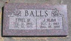 Ethel <i>Woolf</i> Balls