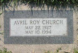 Avril Roy Church