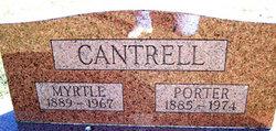 Myrtle Alice <i>Jones</i> Cantrell