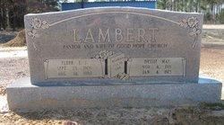 Elder Elbert J Lambert