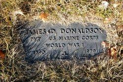 Pvt James Donald Donaldson