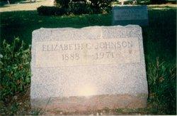 Elizabeth Christine <i>Jackson</i> Johnson