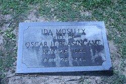 Ida Bethuel <i>Moseley</i> Blasingame