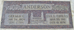 Eva Christina <i>Larsen</i> Anderson