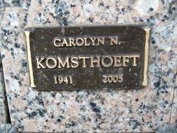 Carolyn Norleen <i>McCann</i> Komsthoeft