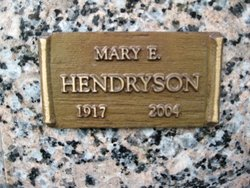 Mary E. Hendryson