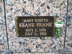 Mary Rosita <i>Keane</i> Frank
