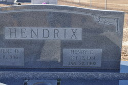 Sgt Henry E. Hendrix