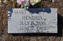 Mary Dewey <i>Barnes</i> Hendrix