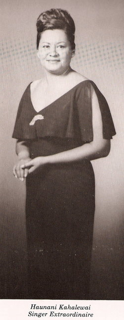 Haunani Kahalewai