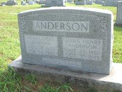 Minnie Elizabeth <i>Ashford</i> Anderson