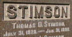Thomas D. Stimson