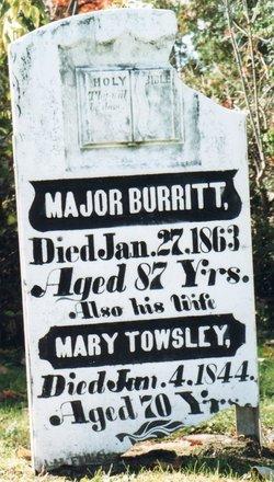 Mary <i>Towsley</i> Burritt